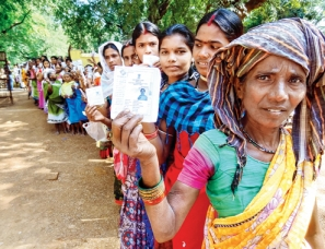 Polling Sluggish In Bastar's Maoist Dominated Areas