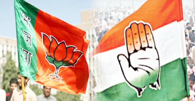 BJP, Cong win nine seats each in MP urban body elections