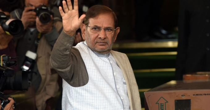 Rajya Sabha notice to Sharad Yadav on JD-U's plea for disqualification