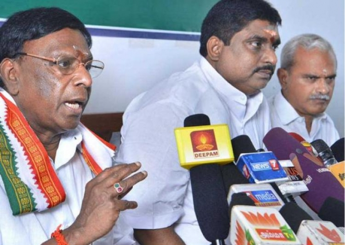 Congress-DMK alliance to form government in Puducherry