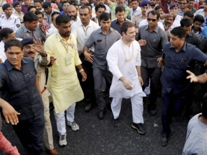 Rahul Gandhi again on two-day hectic campaigning in Gujarat