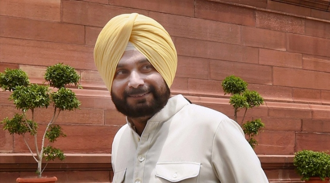 Navjot Sidhu quits as RS MP, set to join AAP