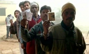 Voting on in Bastar