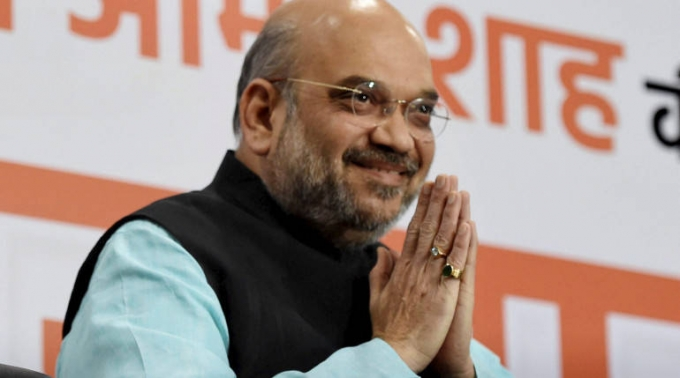 Amit Shah sets target of 200 seats in MP elections