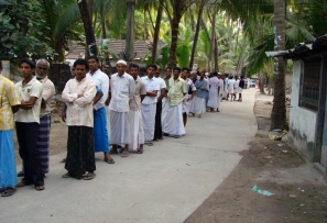 Over 50 Percent Voting In Daman And Diu