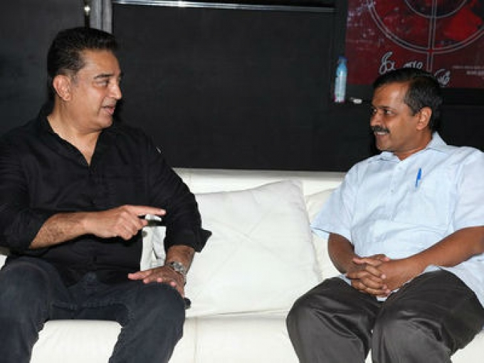 Kejriwal invites Kamal to joint active politics