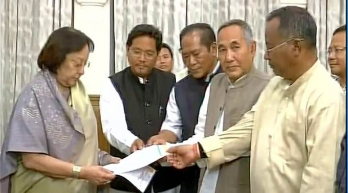 BJP set to form its first government in Manipur